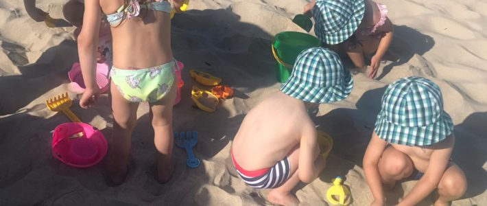 Ida à praia
